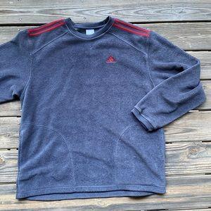Vintage Adidas fleece pullover size XL